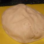 mezclar y preparar la pasta