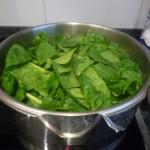 cocer la verdura