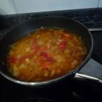 hacer la salsa a fuego lento