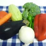 elegir las verduras