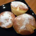 muffins rellenos de naranja