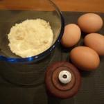 preparar los ingredientes de la mezcla