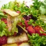 ensalada de frutos rojos