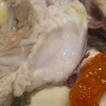 textura de la carne del chicharro