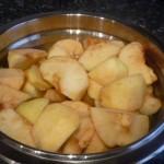 añadir la manzana al final