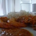 langostinos curry thailandés