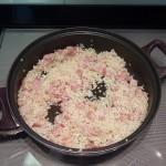 rehogar el arroz