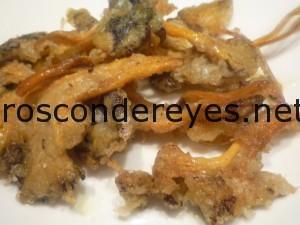 Cantarelus en tempura
