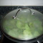 cocer al vapor las espinacas