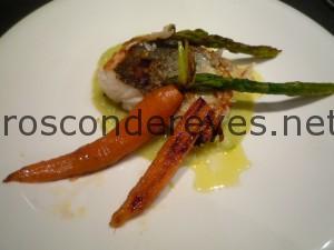 merluza a la plancha con vichyssoise y verduritas (3)